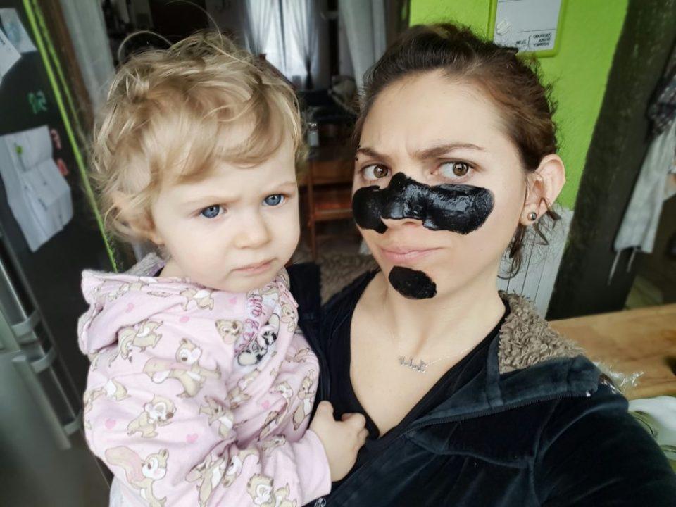 Black mask fai da te