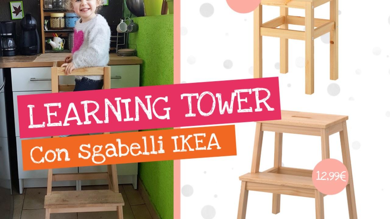 Come Creare Una Learning Tower Con Sgabelli Ikea