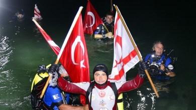 צולל טורקי קבע שיא עולם חדש