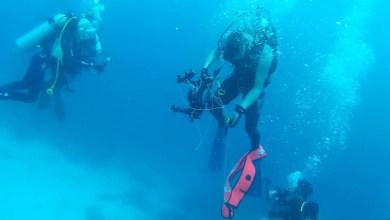 בטיחות בצלילה - חוט סימון הסתבך בציוד צלילה בעת עצירת בטיחות