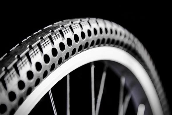 Modellen Ever Tires er perforert. Foto: Pressefoto