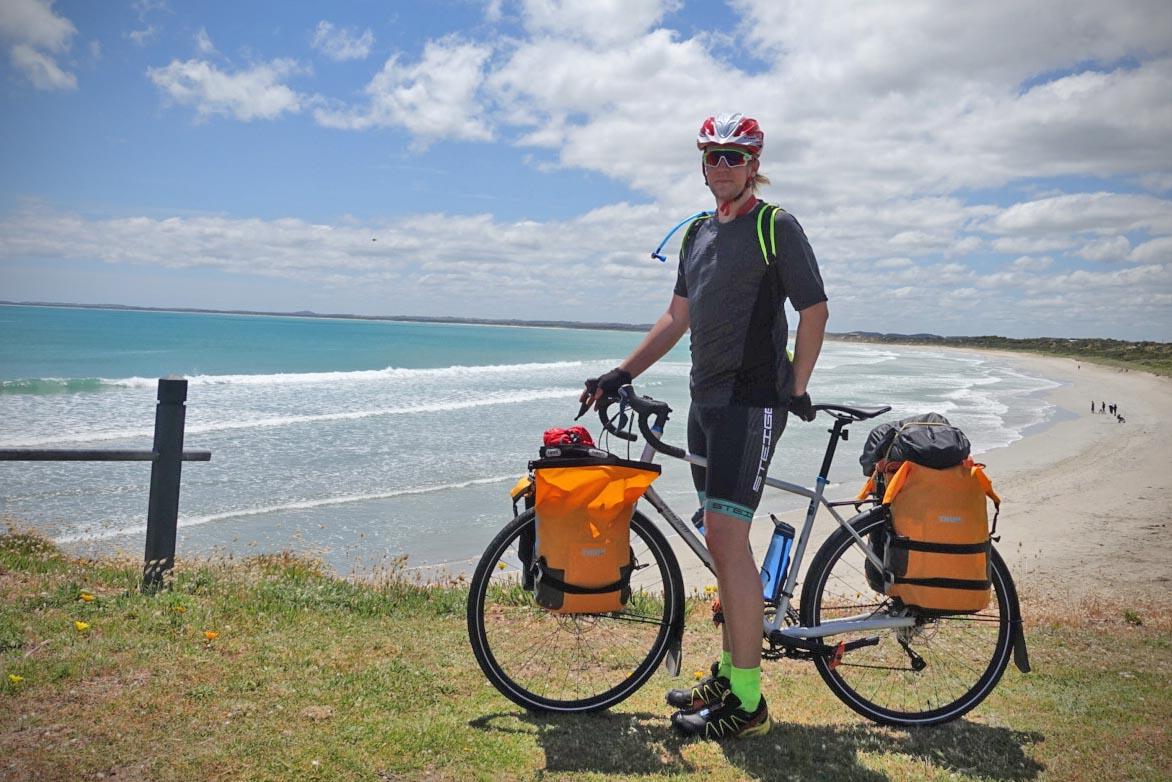 Lysten på eventyr og å bryte med rutinelivet var noe av det som førte til at de to la ut på sitt livs sykkeltur.