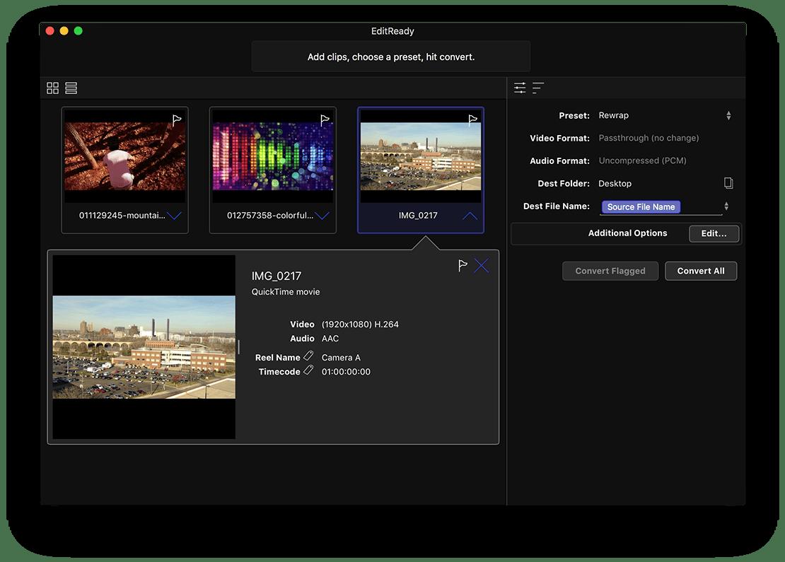 EditReady for Mac 2.0.3 破解版 - 强大的视频转码工具