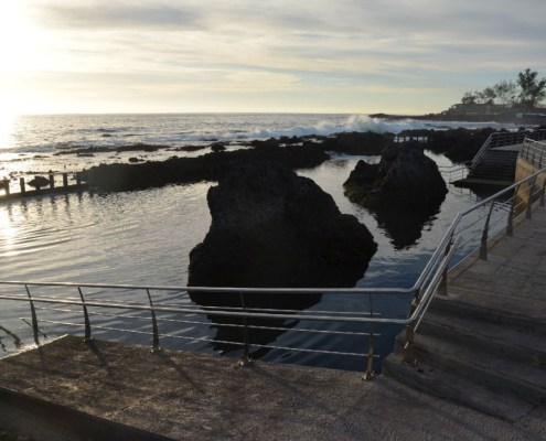 Natural pools in Alcala