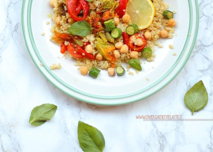 Insalata estiva di quinoa