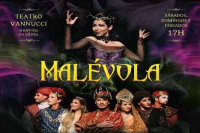 Malévola, no Teatro Vannucci com até 58% off