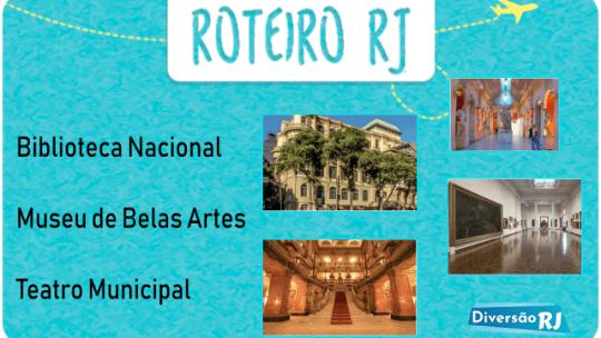 Roteiro Cinelândia: Biblioteca Nacional, Museu de Belas Artes e Teatro Municipal