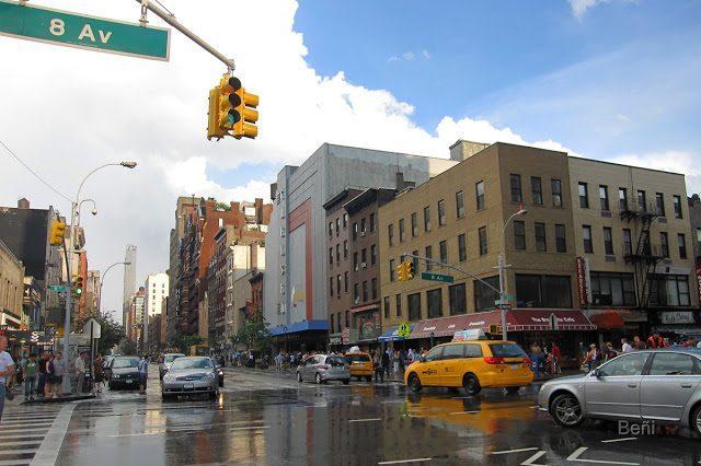calles humedas de new york