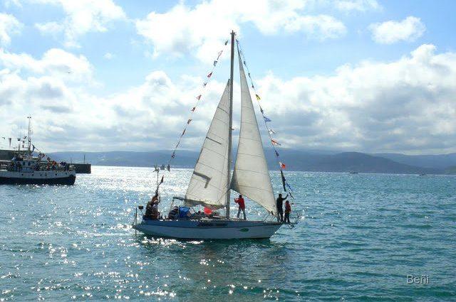 embarcacion de vela