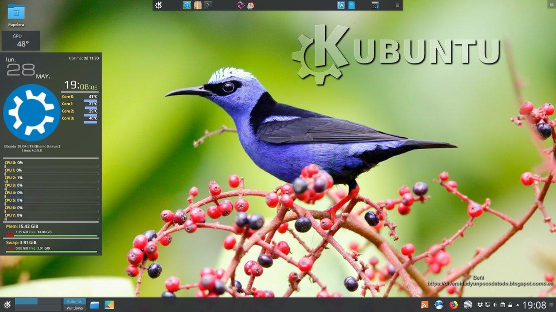 Después de instalar Kubuntu 18 04  Instalación y configuración
