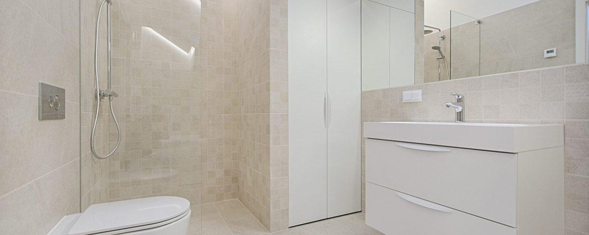 cleaning shower doors