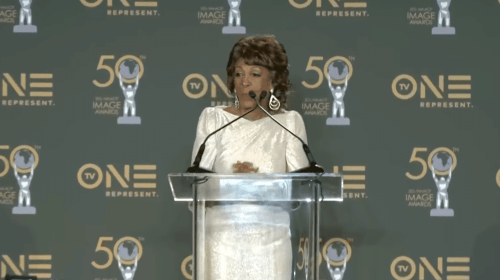 NAACP Image Awards: Maxine Waters Gives Stirring Speech, Addresses Death Threats