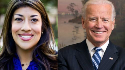 Lucy Flores Accuses Joe Biden of Touching Her Inappropriately