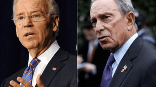 Creepy Biden Provokes Bloomberg to Reconsider Run