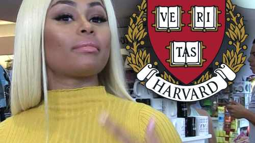 Blac Chyna Harvard University