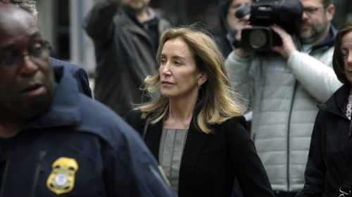 Felicity Huffman college scandal fraud guilty