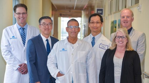 Kaiser Permanente leaders at the Anaheim and Irvine medical centers. These hospitals are ranked 11th in the U.S. for pulmonology and lung surgery.