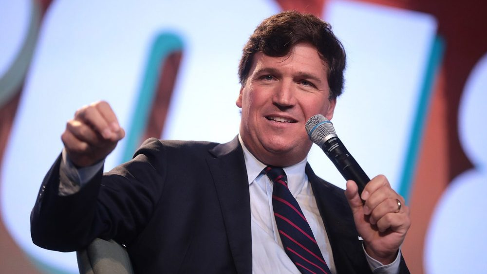 Carlson, Fox, white supremacy