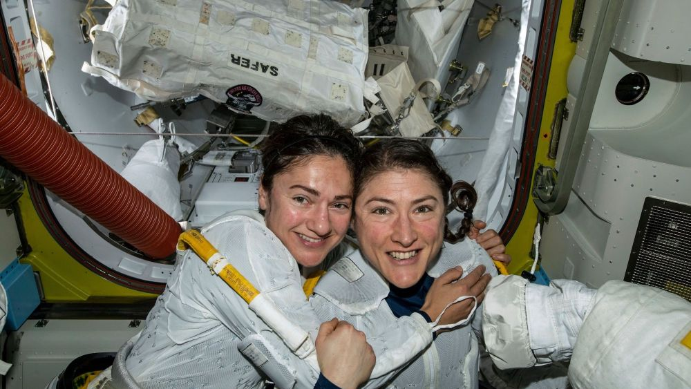 NASA, women, minority, all-female spacewalk