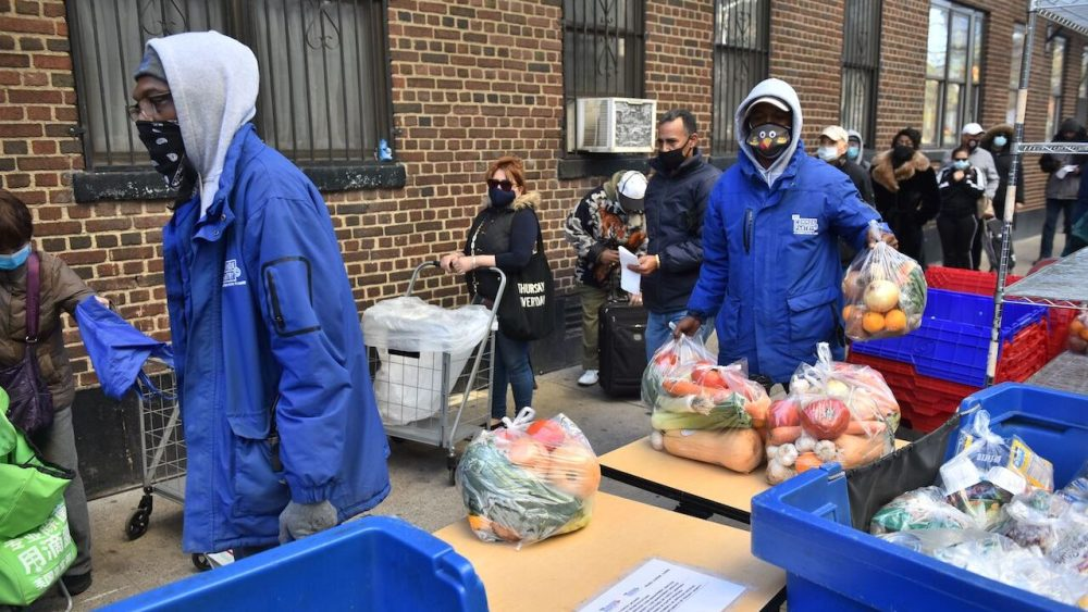 food insecurity, food pantry, record
