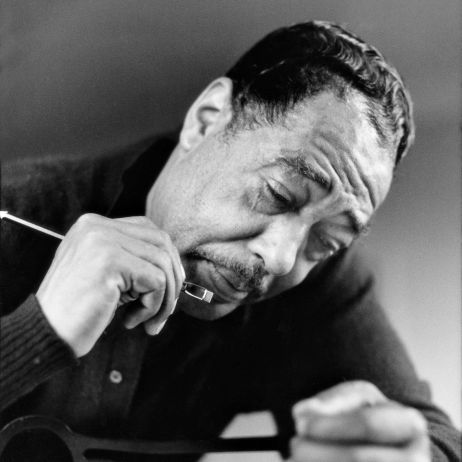 A portrait of jazz great, Duke Ellington, shot by Gordon Parks in in 1960. (The Gordon Parks Foundation)