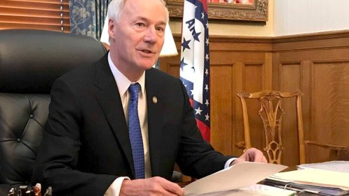 Arkansas Gov. Asa Hutchinson attacks abortion