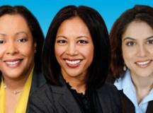 Rhonda Crichlow, Diana Solash, Sadaf Parvaiz