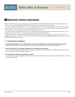 Reaching Middle Managers