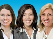 Caryn Parlavecchio, Sylvia Shubert, Mary Ann Barnes
