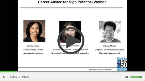 Career Advice for High Potential Women