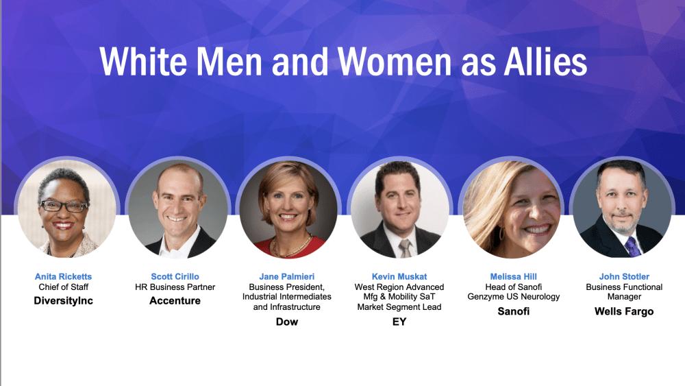 White Men and Women as Allies