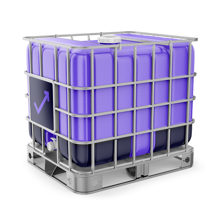 IBC waste container