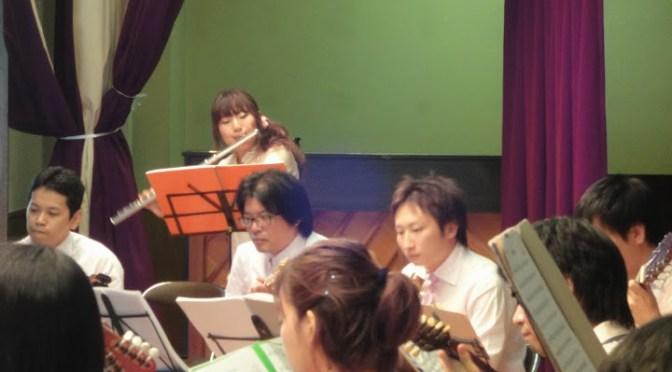 東濃マンドリン音楽祭に参加