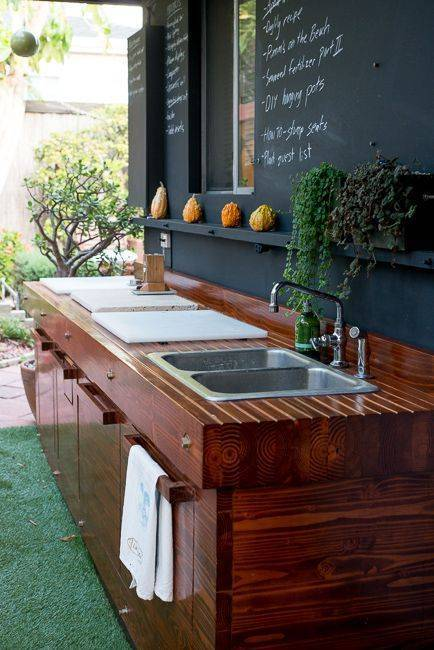 15 Most Outrageous Outdoor Kitchen Sink Station Ideas on Outdoor Patio Sink id=67015
