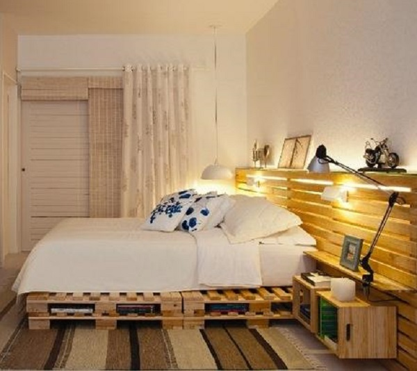 20+ Most Inspiring Wood Pallet Bedroom Ideas You Have To Try on Pallet Bedroom  id=36415