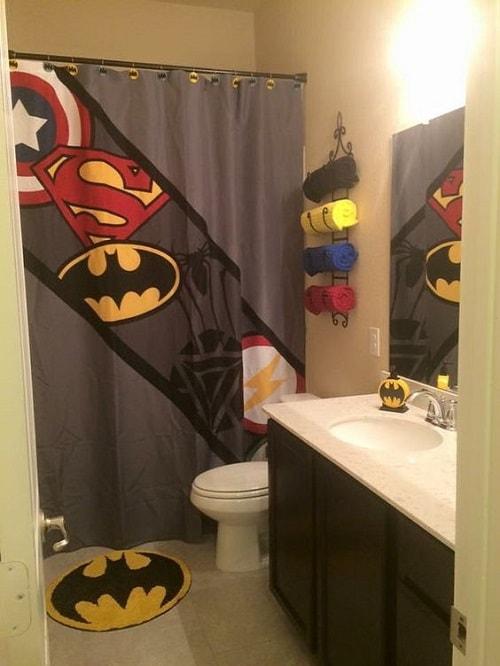 15 Stunningly Festive Cheap Avengers Bathroom Decor Ideas