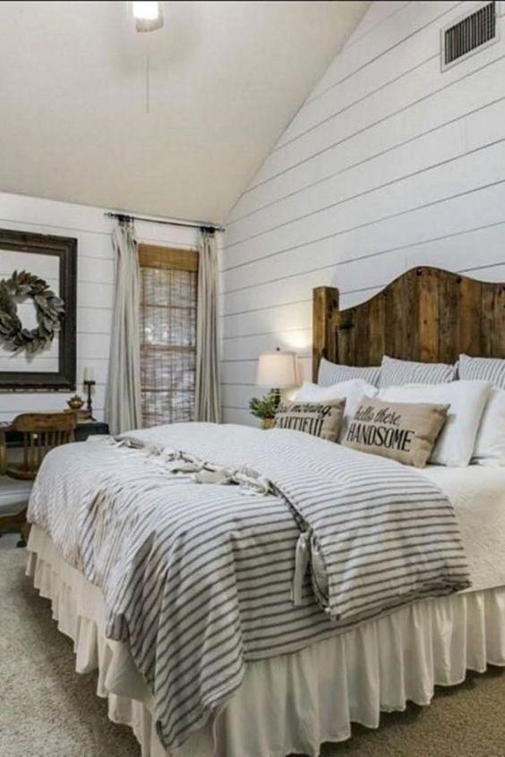 25+ Most Admirable Farmstyle Bedroom Ideas For Unique Decor on Farmhouse Bedroom Curtain Ideas  id=26412