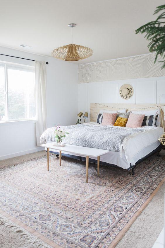 25+ Most Stylish Modern Boho Bedroom Decorating Ideas on A ... on Boho Bedroom Ideas On A Budget  id=89295