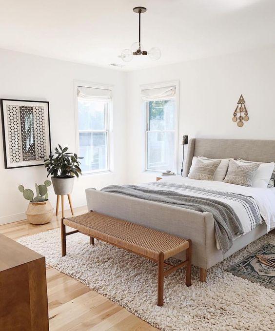 25+ Most Stylish Modern Boho Bedroom Decorating Ideas on A ... on Boho Modern Bedroom  id=94960