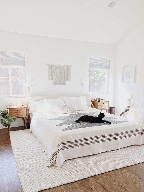 25+ Most Stylish Modern Boho Bedroom Decorating Ideas on A ... on Boho Modern Bedroom  id=93504
