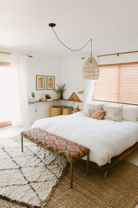25+ Most Stylish Modern Boho Bedroom Decorating Ideas on A ... on Boho Bedroom  id=42854