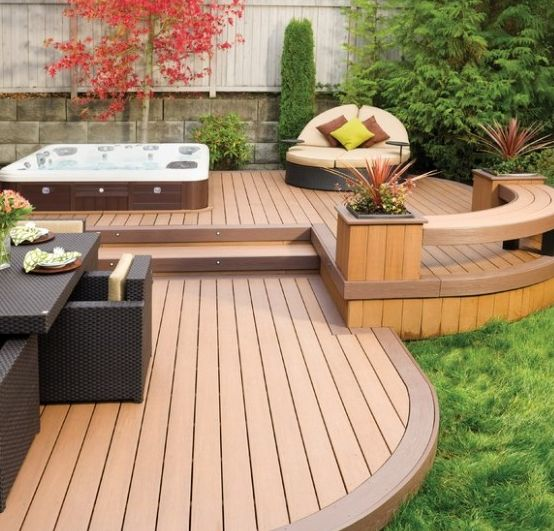 20+ Most Beautiful Deck Hot Tub Ideas For Joyful Backyard on Deck And Hot Tub Ideas  id=61602