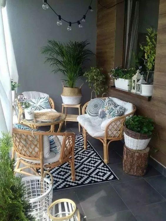 apartment patio ideas 25 simple