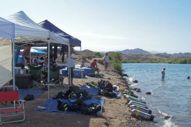 Lake Mohave and Dive Shack USA