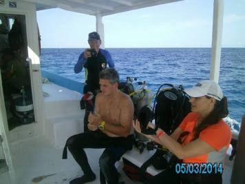Cozumel Mexico with Diveshack USA May 2014 16
