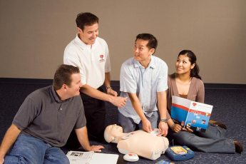 Professional First Aid training