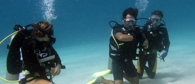 PADI courses with B&J