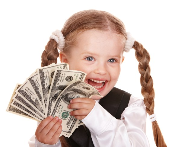 bigstock-happy-little-girl-with-money-d-21183794 ...
