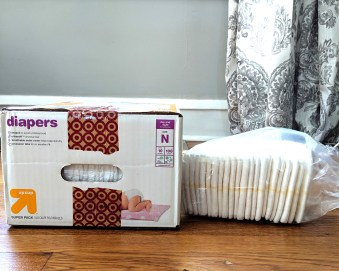 save money on diapers, save on diapers, target brand diapers