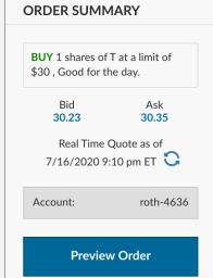 buy stock